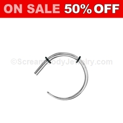 316L Surgical Steel Spiral Claw Taper (1 Pair)