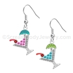 Tropical Cocktail Earrings