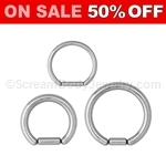 316L Surgical Steel Segment Rings