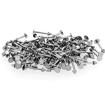 150 Pcs of 16ga 316L Surgical Stainless Steel Mixed Size Labret with Spike Top