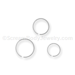 316L Surgical Steel Split Ring