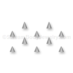 10 Pack of 316L Surgical Steel Cones