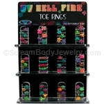 72 Compartment Body Jewelry Display